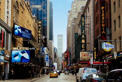 42nd street theatres